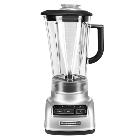Kitchen Aid® Licuadora Diamond Gris 1.75 Lts. (KSB1585CV)