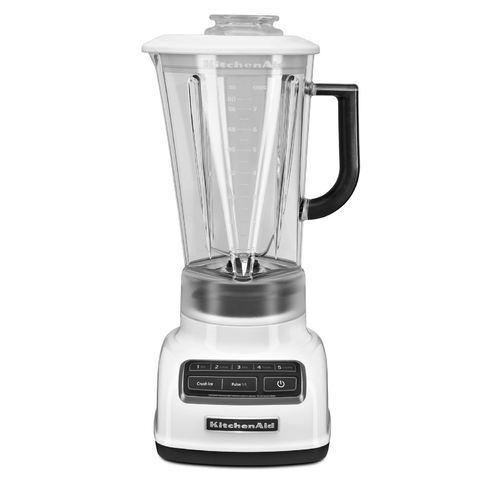 Kitchen Aid® Licuadora Diamond Blanca 1.75 Lts. (KSB1585WH)