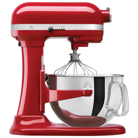 Kitchen Aid® Batidora Heavy Duty Roja (KSM7591XRER)