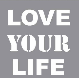 Servilletas Love Your Life x 20 Uni. (SLIFE)