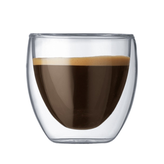 Vaso Expresso Vidrio Doble Pared 75 ml (NB0009)