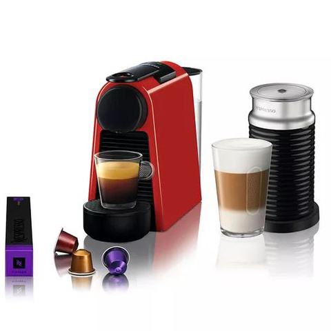 Nespresso® Essenza Mini Red +Aero (A3D30-AR-RE-NE)