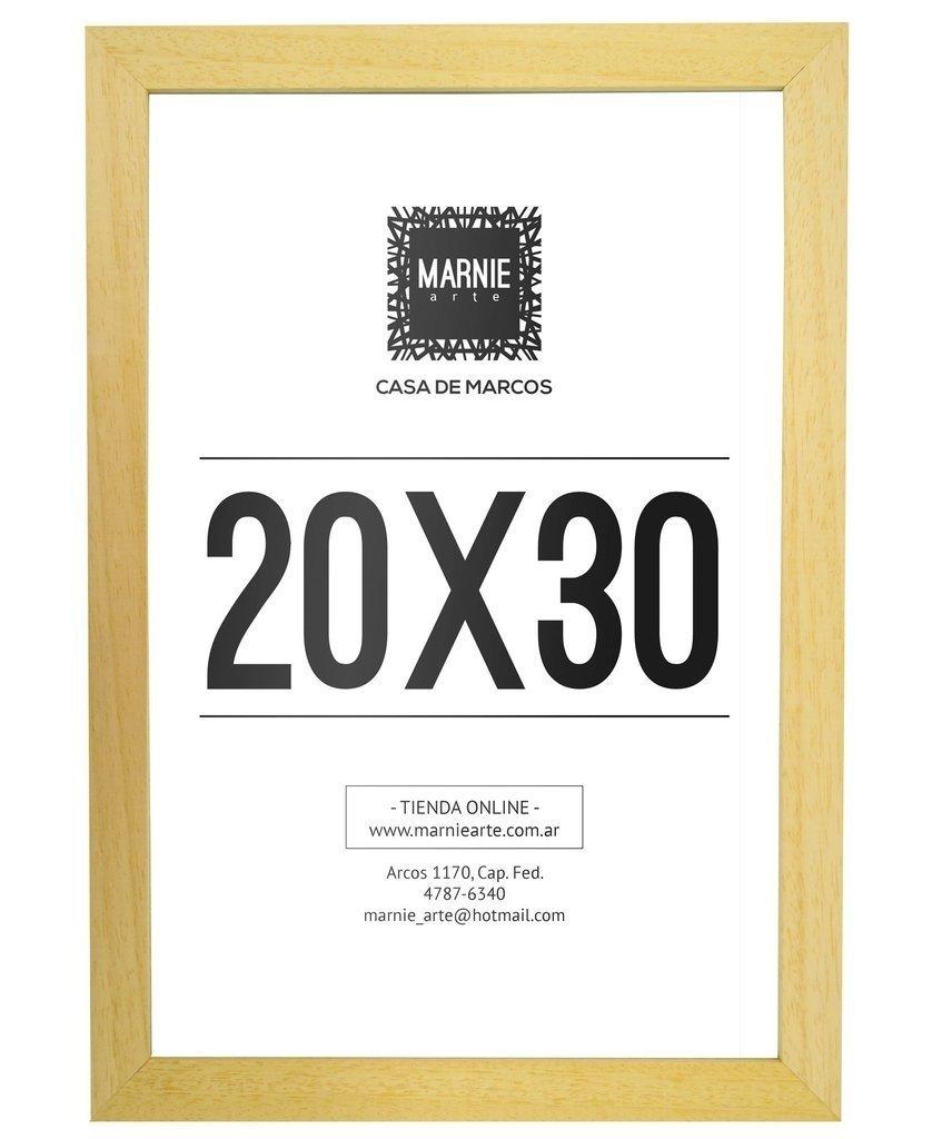Marco de Madera Marupá - 20x30cm