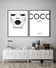 SET x 2 - Coco Chanel + Black Lips