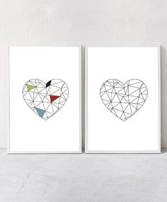 SET x2 - Geometric Hearts