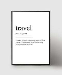 Cuadro Travel Definition