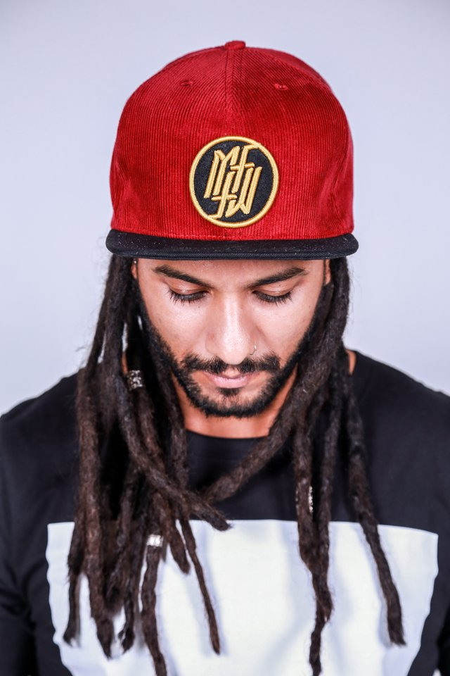 Snapback Under II Red - comprar online