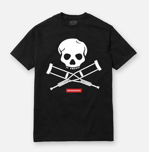 T-shirt Jackass Mothafucka