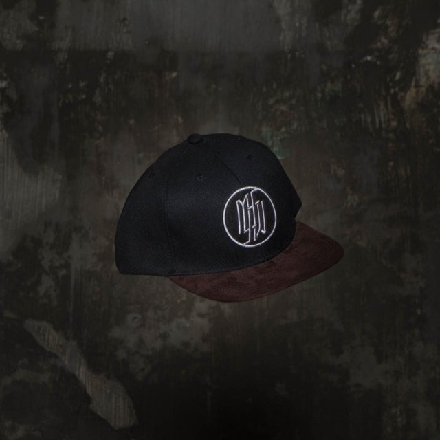 Snapback Under II Black/Brown Camurça na internet