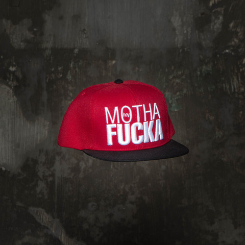 Snapback HeyMf Red / Black na internet