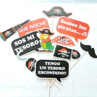 Props photobooth piratas - comprar online