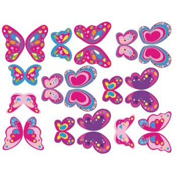 Mariposas comestibles en internet