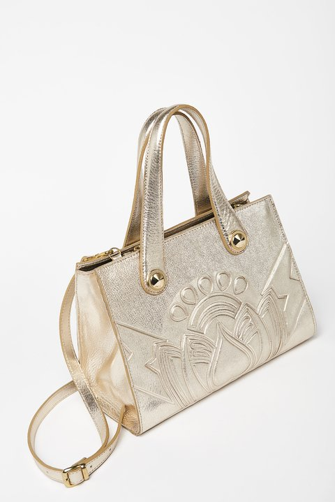 CARTERA KATE PLATINO