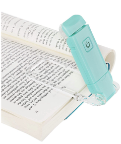 Luz de libro flexible recargable
