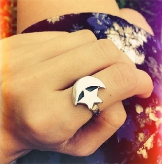 Anillo Moon Star