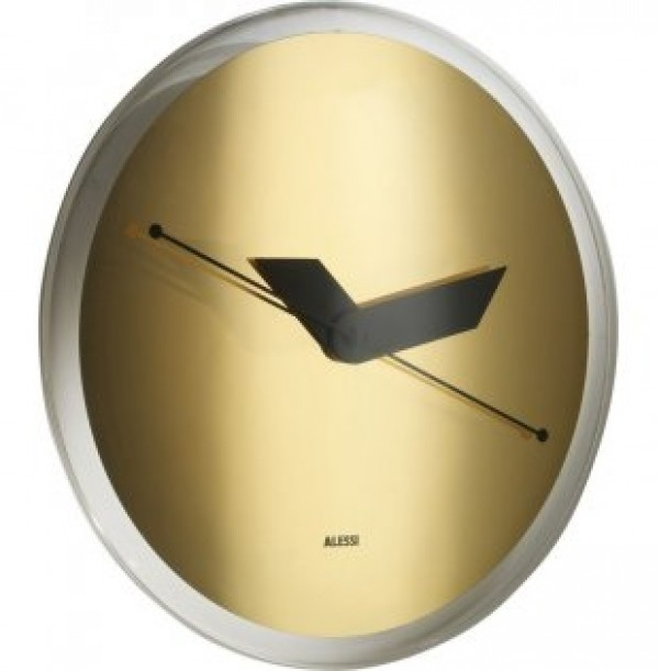 RELOJ DE PARED SOLE GOLD ALESSI
