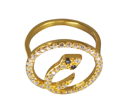 ANILLO PITON GOLD en internet