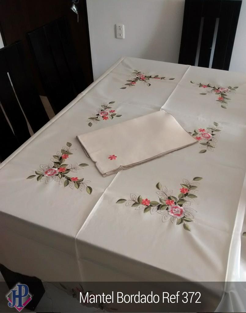 Mantel bordado ref 372 - Mantel para mesa exterior ...