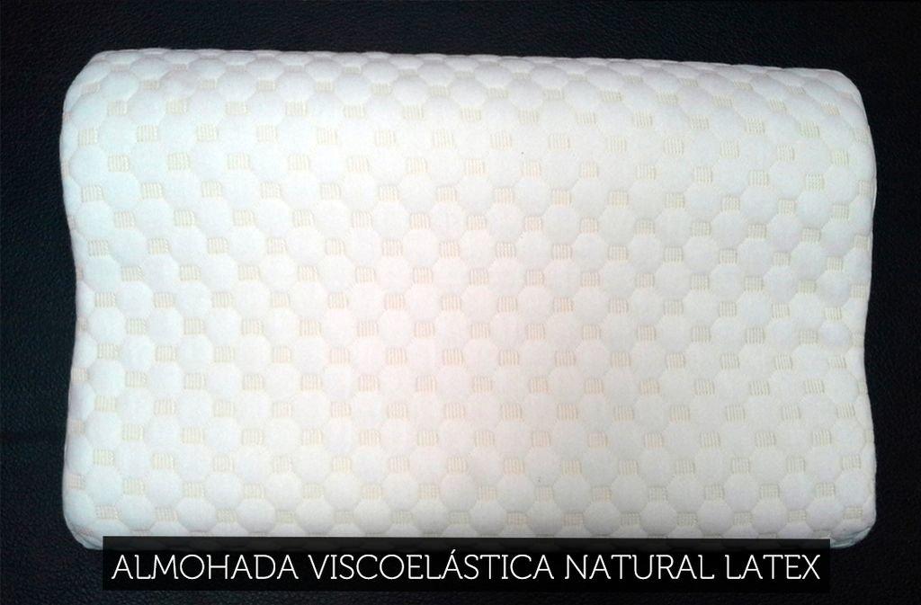 almohada viscoelastica natural latex
