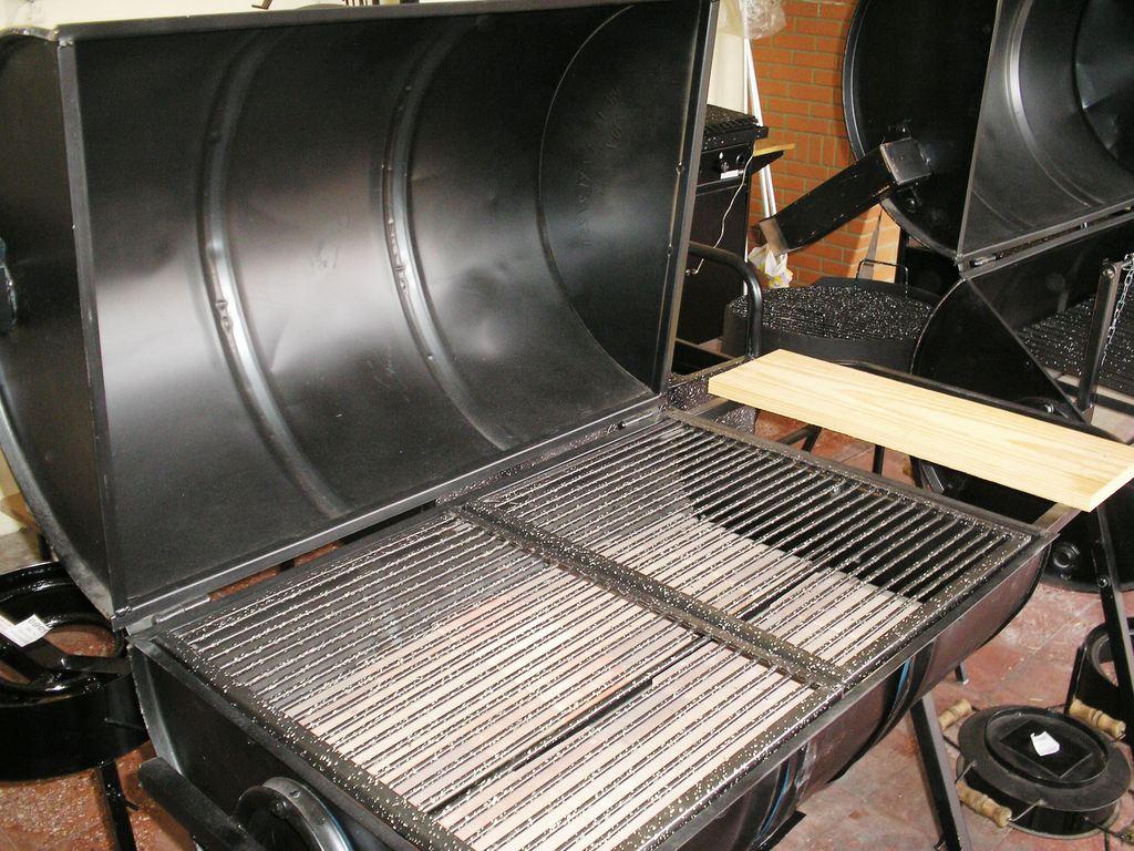 Parrilla tambor fijo chulengo emporiodelamaceta - Parrillas y hornos a lena ...