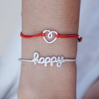 PULSERA HAPPY