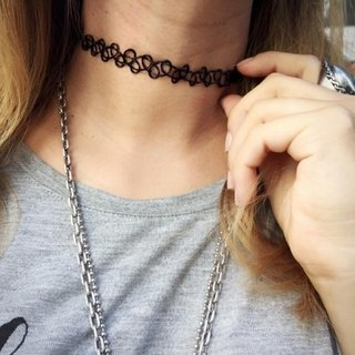 Tattoo Choker Color