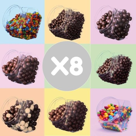 PACK X 8 del chocolate que quieras! + Party Box