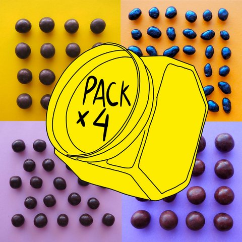 PACK X 4 del chocolate que quieras! - comprar online