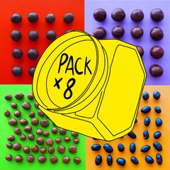 PACK X 8 del chocolate que quieras! - comprar online