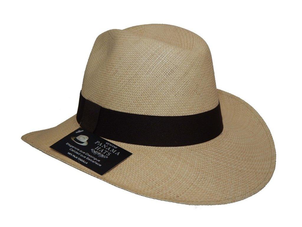 disfrute del envío de cortesía servicio duradero paquete elegante y resistente Sombrero PANAMA 100% original fabricado en Ecuador