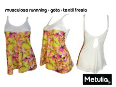 "Musculosa  "" Gota fresia  "" Run Gym Fitness"