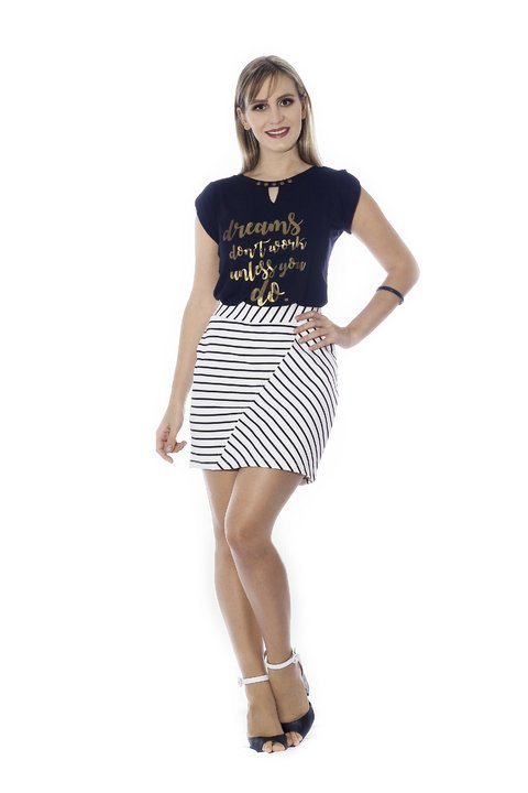 21521 - T-shirt estampada