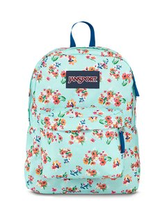 Jansport SuperBreak Celeste con Flores