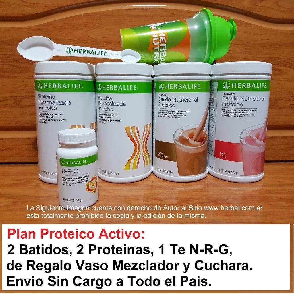 Plan Proteico Energizado