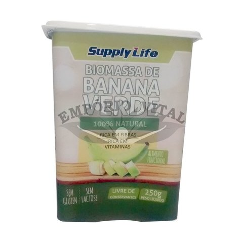 Biomassa de Banana Verde 250g - Supply Life na internet