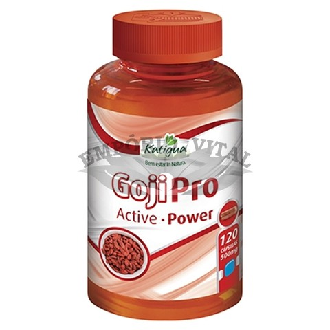GojiPro Active Power - 120 Cápsulas (500 mg) - Katigua
