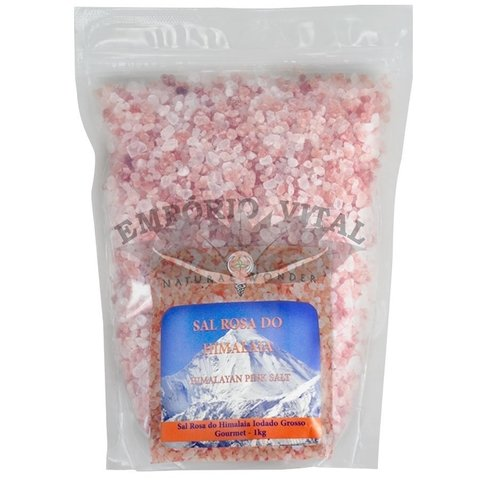 Sal Rosa do Himalaia Grosso 1kg - Natural Wonder - comprar online