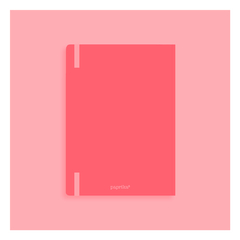 Imagen de Bullet Journal A6 (coral) + Planner Semanal Pocket