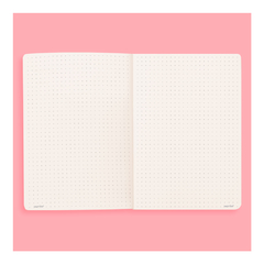 Bullet Journal A6 (coral) + Planner Semanal Pocket
