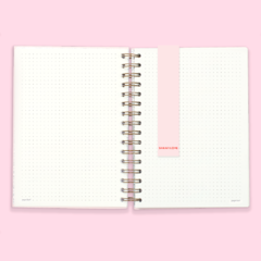 Cuaderno Bullet Journal Punteado A5 - GOOD THINGS en internet
