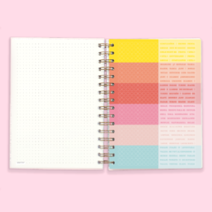 Cuaderno Bullet Journal Punteado A5 - GOOD THINGS