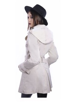 Piloto Impermeable Trench Beige en internet