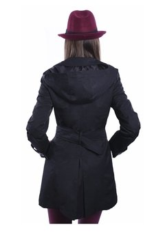 Piloto Impermeable Trench Negro en internet
