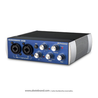 Placa de sonido Presonus Audiobox USB