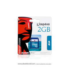 Tarjeta SD KINGSTON 2GB