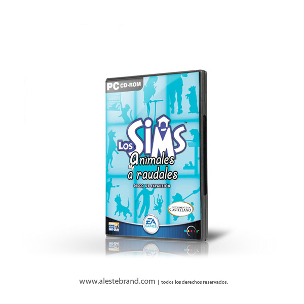LOS SIMS ANIMALES A RAUDALES - PC