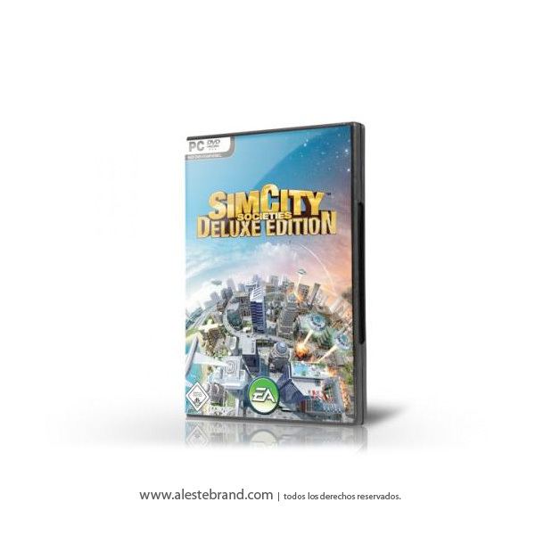 SIM CITY SOCIETIES DELUXE - PC