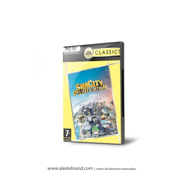 SIMCITY SOCIETIES DELUXE CLASSIC - PC