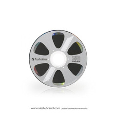 DVD-RW 1,4GB Mini Movie Jewell x 3 unidades - VERBATIM - 95415 - comprar online