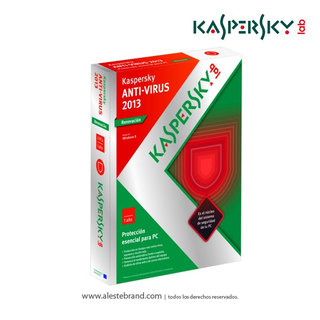 Antivirus KASPERSKY 2013 - 3PC